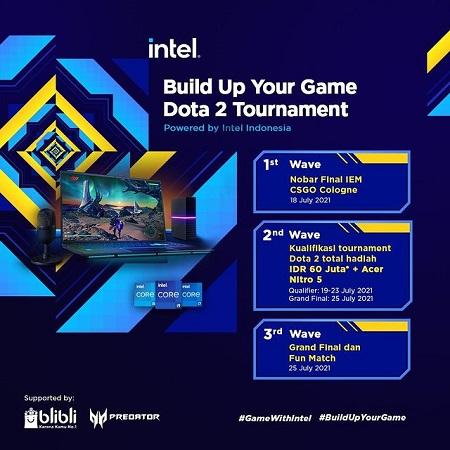 Intel x Yamisok Hadirkan Build Up Your Game DOTA 2 Tournament!