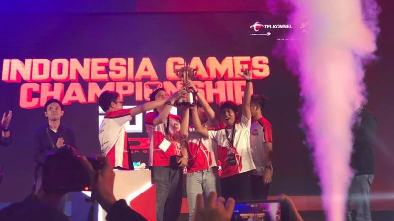 Akhir Manis Bigetron di AOV Indonesia Games Championship 2018