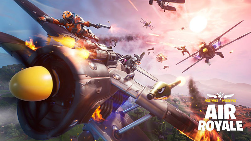 Patch Baru Fortnite Suguhkan Mode Seru, 'Air Royale'!