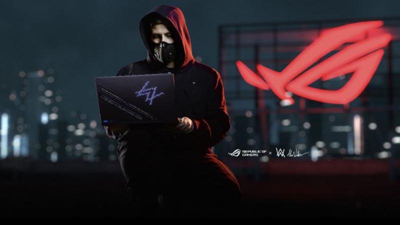 ROG Zephyrus G14 Alan Walker, Laptop Gaming Bernuansa Musik