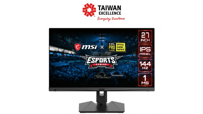 Yuk, Intip Optix MAG274R, Monitor Gaming IPS Esports Terbaru dari MSI