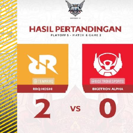 RRQ Hoshi ke Final MPL Season 6 Lagi, R7 Mau Juara Sampai Jenuh