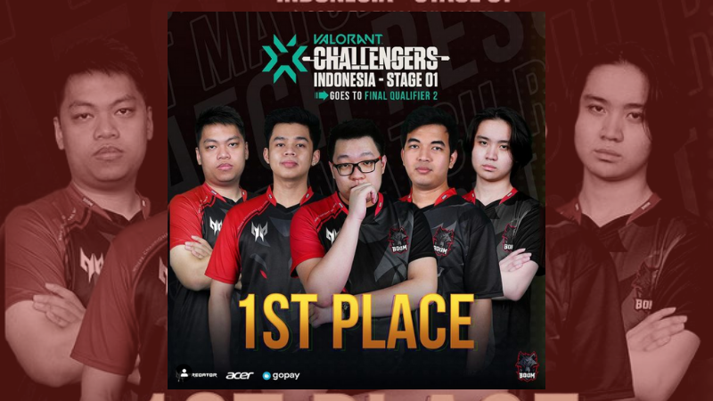 BOOM Ungguli Alter Ego di Final Q1 Valorant Challengers Indonesia