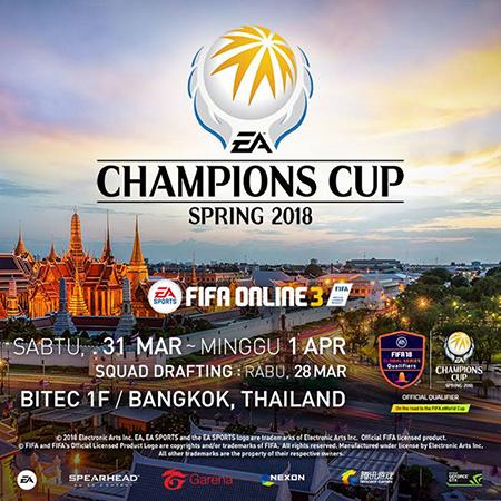 Adu Gengsi di EA Champions Cup Spring 2018, Rebut 3,3 Miliar!