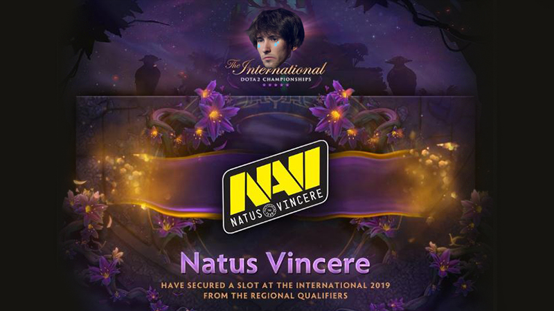 Na'Vi Manggung Lagi di The International, Dendi Ga Diajak!