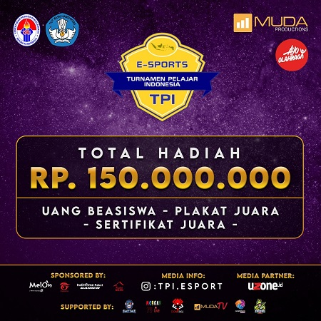 Berlangsung Sengit, Inilah Para Juara Turnamen Pelajar Esports Indonesia