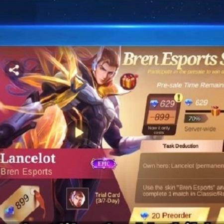Ini Bocoran Tanggal Rilis Skin Lancelot Bren Esports!