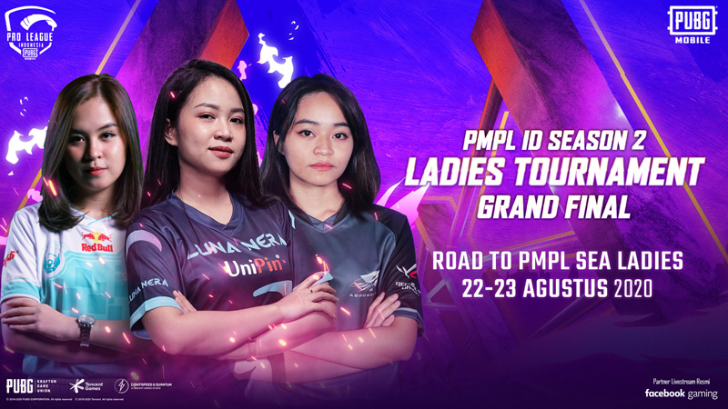 Makin Seru, Inilah Tim yang Bertarung di PMPL ID Season 2 Ladies Tournament!