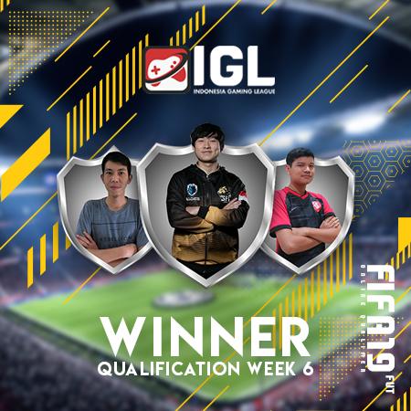 Tiga Terbaik dari IGL - FIFA 19 FUT Online Minggu Keenam