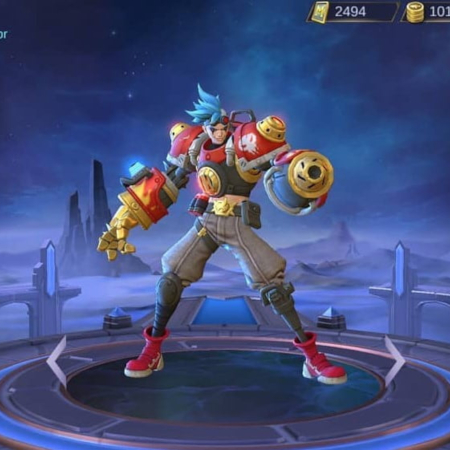 Sambut Hero Baru X Borg, Fighter yang Bakal 'Bakar' Land of Dawn