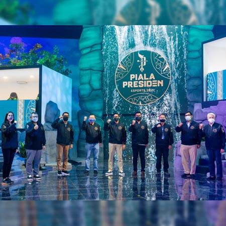 Usung Visi Sports Tourism, Piala Presiden Esports 2021 Resmi Dibuka!