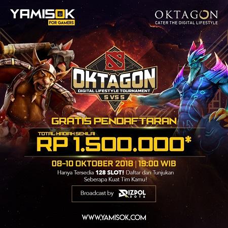 Sensasi Ikut Oktagon Lifestyle Tournament Bareng Rizpol!