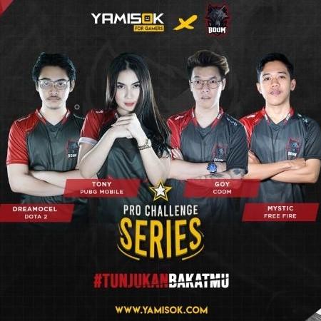 Buktikan Skillmu & Taklukkan BOOM Esports di Yamisok Pro Challenge Series