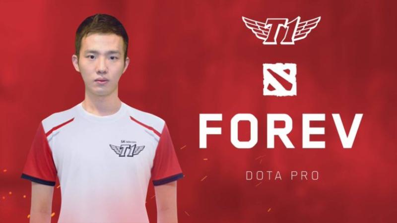 Perkenalkan Forev, SKT T1 'Jajah' Kompetisi Dota 2