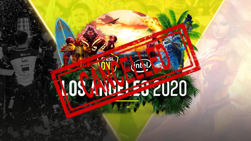 Bertambah, Corona Buat ESL One Los Angeles Dibatalkan