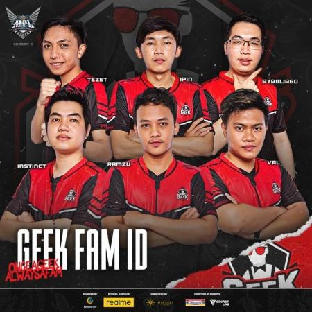 [MPL S5] Profil Tim Geek Fam, AyamJago Jadi Harapan?