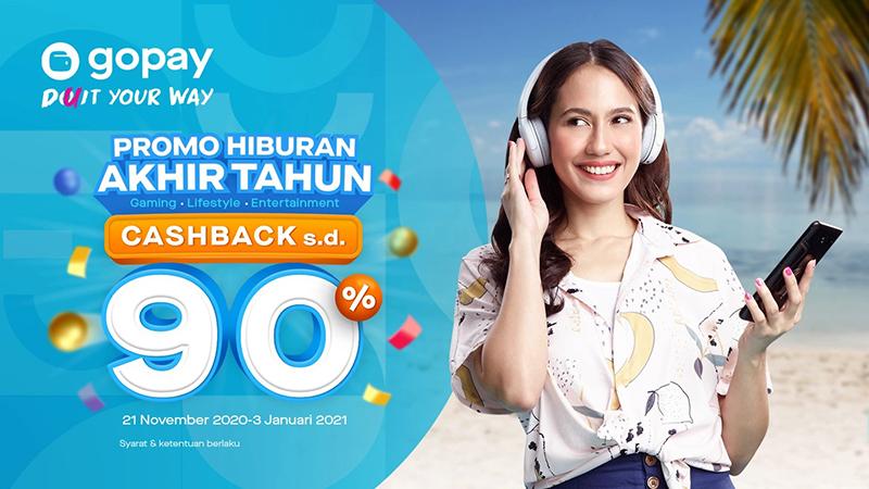 Nikmati Promo Akhir Tahun GoPay, Dapatkan Cashback Hingga Rp900.000++