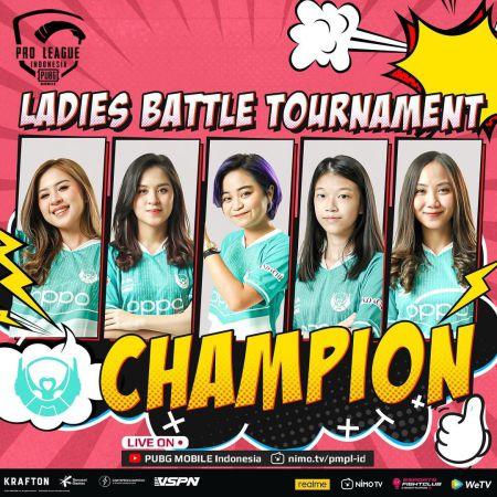 Belletron Ace Pertahankan Gelar PMPL SEA Ladies Season 4!
