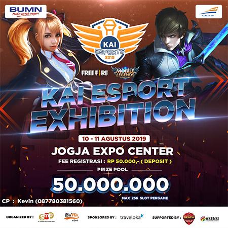KAI Gelar Kompetisi Esports Berhadiah 50 Juta di Yogyakarta!