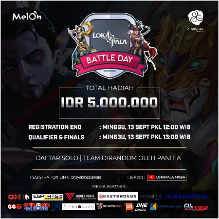 Keseruan Lokapala Battle Day, Satukan Media dan Komunitas Game