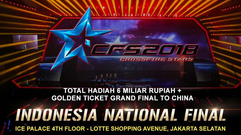 Cari Duta Bangsa di Crossfire Stars National Final 2018!