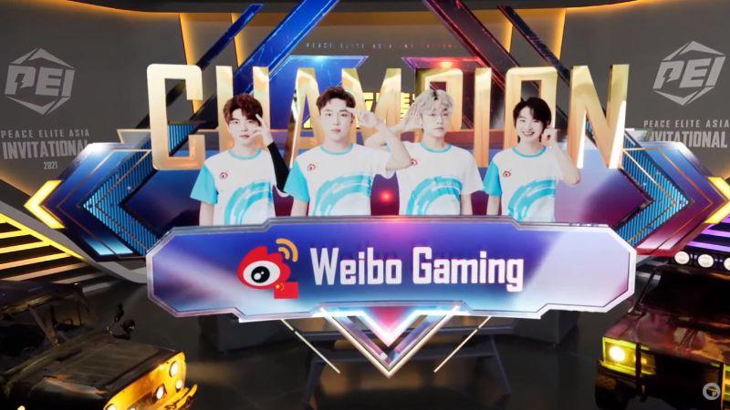Juara PEI 2021, Team Weibo Bawa Pulang Hadiah 2,6 Miliar Rupiah!