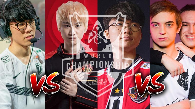 Jelang Semifinal LOL Worlds 2019, Ini Tim yang Tersisa!
