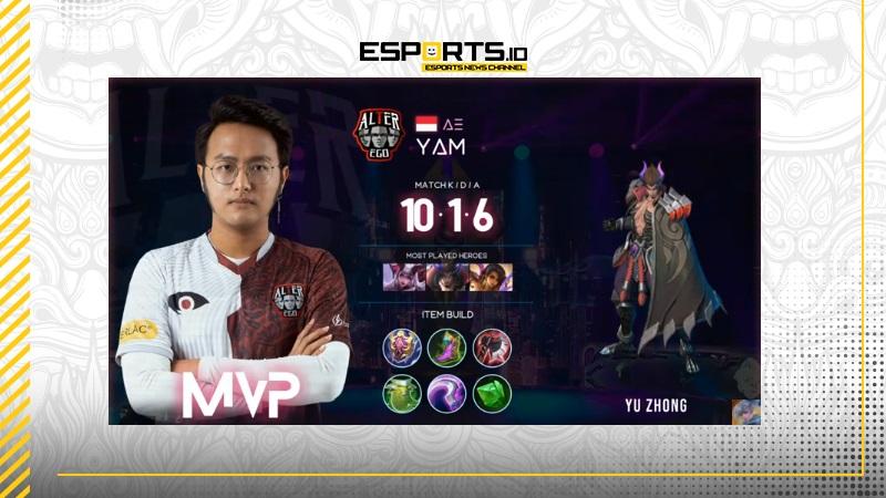 Yu Zhong Yam Bungkam Netizen! AE Unggul 1 Match Kontra 10S