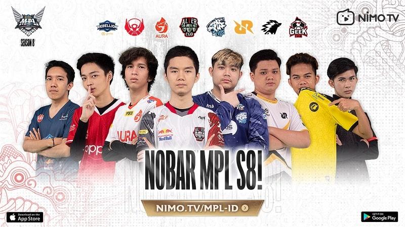 Gelar Talkshow & Event Berhadiah! Nimo TV Siap Siarkan MPL ID S8