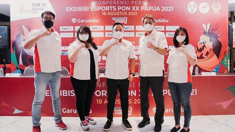 Resmi, Esports Bakal Jadi Cabor Ekshibisi di PON Papua 2021!