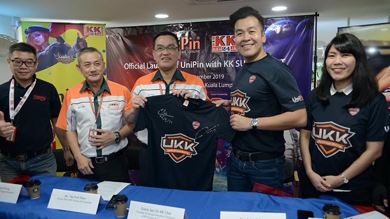 UniPin Gelar SEACA di Malaysia Bareng KK Super Mart!