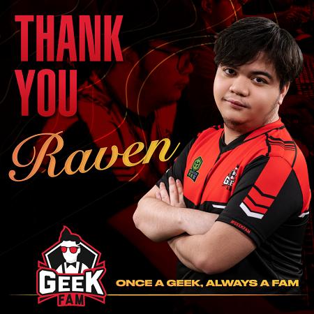 Tinggalkan Geek Fam, Kini Raven Resmi Berlabuh ke Fnatic