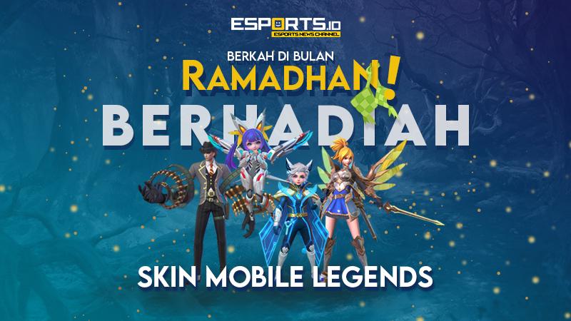 Ikuti Giveaway Mingguan Esports.ID, Berhadiah Skin Mobile Legends!
