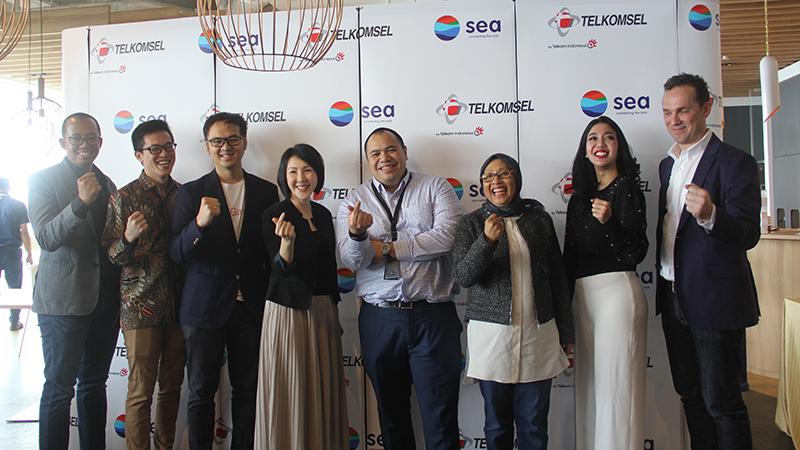 Jalin Kerja Sama, Sea dan Telkomsel Agendakan Banyak Acara Gim & Esports!