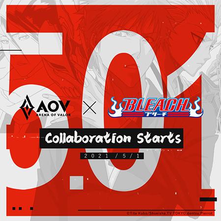 Garena Umumkan Kolaborasi AOV X BLEACH Hadir Awal Bulan Mei