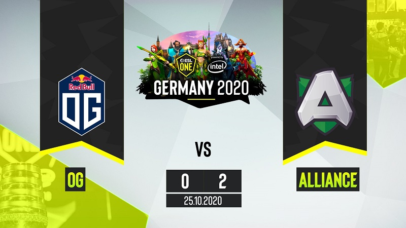 OG Susul Nigma Pulang Di ESL One Germany 2020