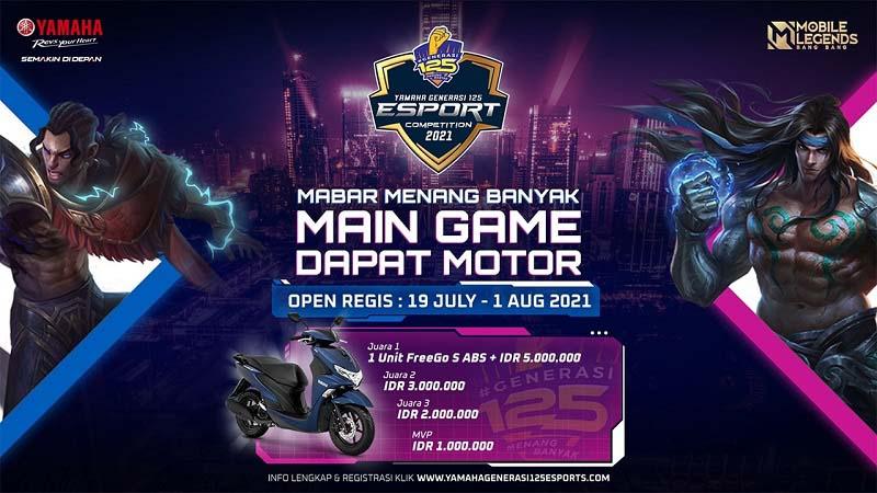 Tak Cuma Balapan, Yamaha Generasi125 Gelar Kompetisi Esports!