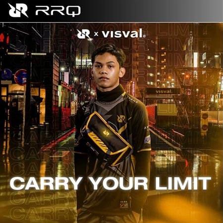 Team RRQ dan Visval Luncurkan Tas Limited Edition untuk Gamers