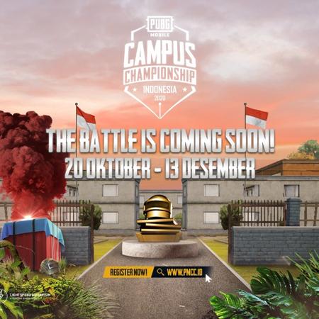 PUBG Mobile Campus Championship 2020 Hadirkan Trilogi Kompetisi