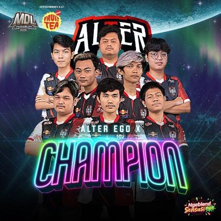 Alter Ego X Juarai MDL Season 4, Siap Kawinkan Gelar MPL S8!