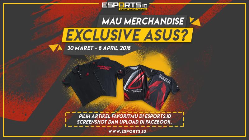 Esports.ID Bareng ASUS ROG Bagi-Bagi Merchandise Exclusive!