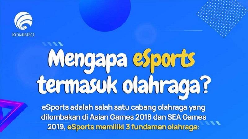 3 Alasan Kominfo Sebut Esports Masuk Kategori Olahraga