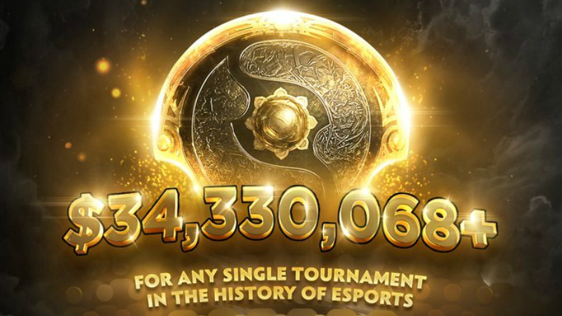 Resmi! TI10 Pecahkan Rekor Prize Pool Terbesar Turnamen Esports