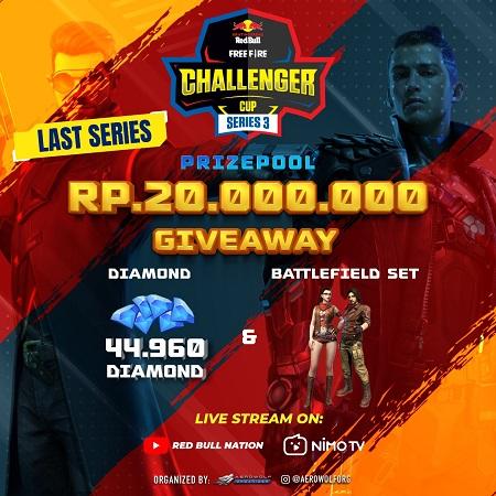 Seri Terakhir Kratingdaeng Red Bull Bagikan 42.070 Diamond!