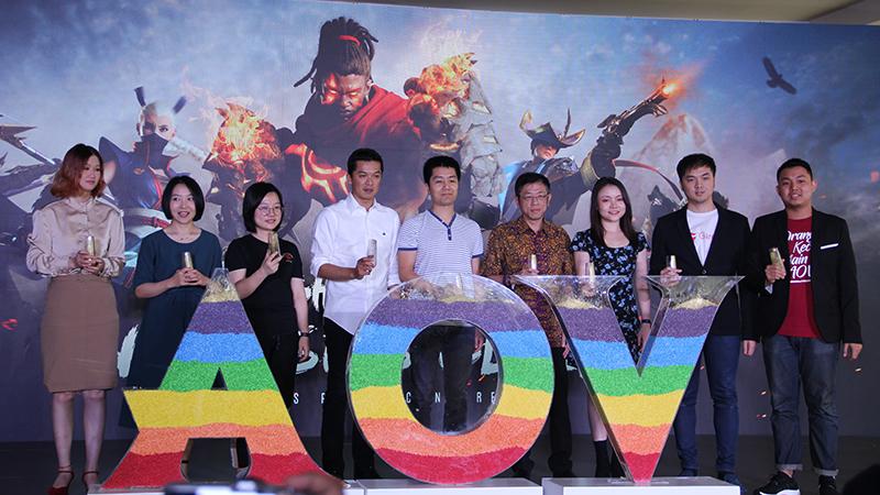 Dukungan Tencent untuk Kemajuan eSports AOV di Indonesia!