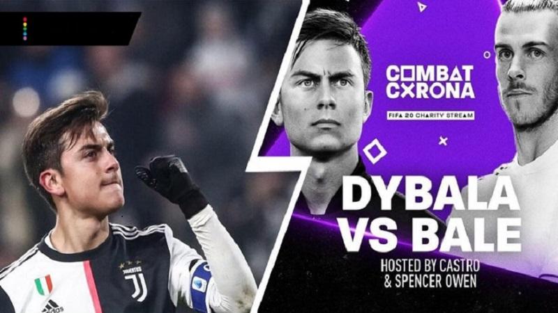 Paulo Dybala Kalahkan Gareth Bale di FIFA Combat Corona