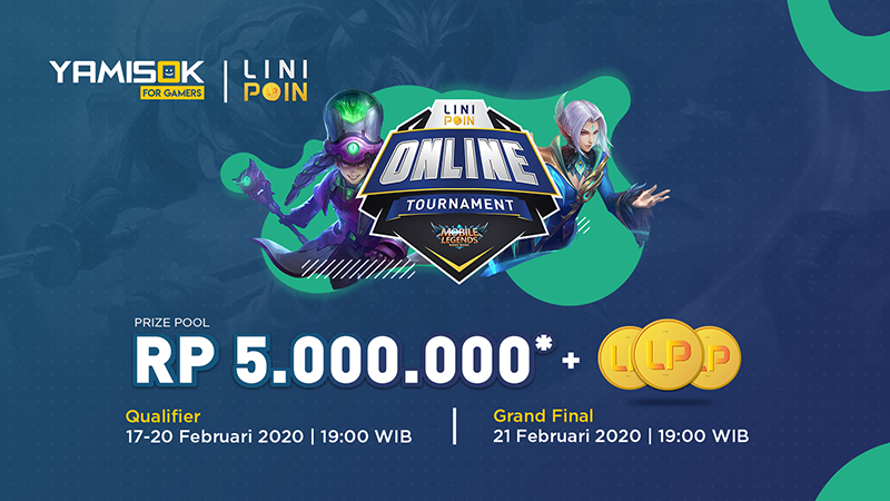 Asah Bakatmu di LiniPoin Online Tournament Mobile Legends!