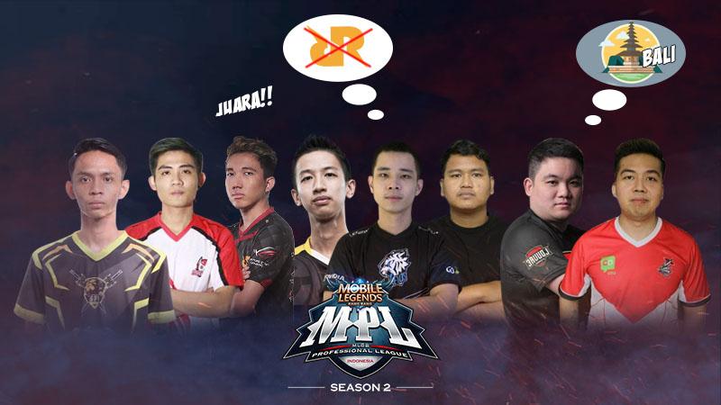 Curahan Hati Finalis MPL Season 2