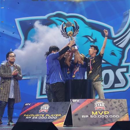Blue Rhinos Juara Esports Star Indonesia, Jbun Dikontrak RRQ!