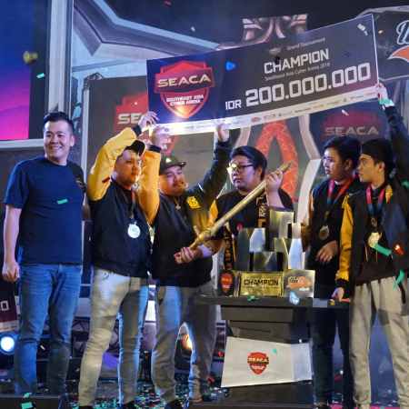 Tarung Sengit nan Epik di Final Mobile Legends SEACA 2018!